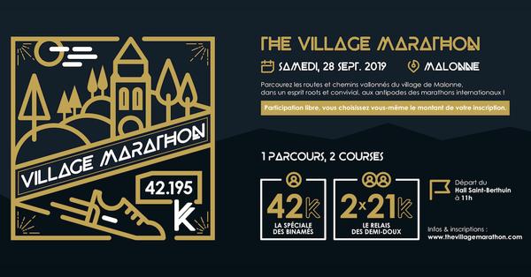 The village marathon