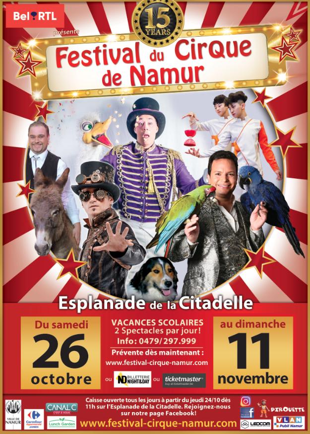 Festival du Cirque de Namur