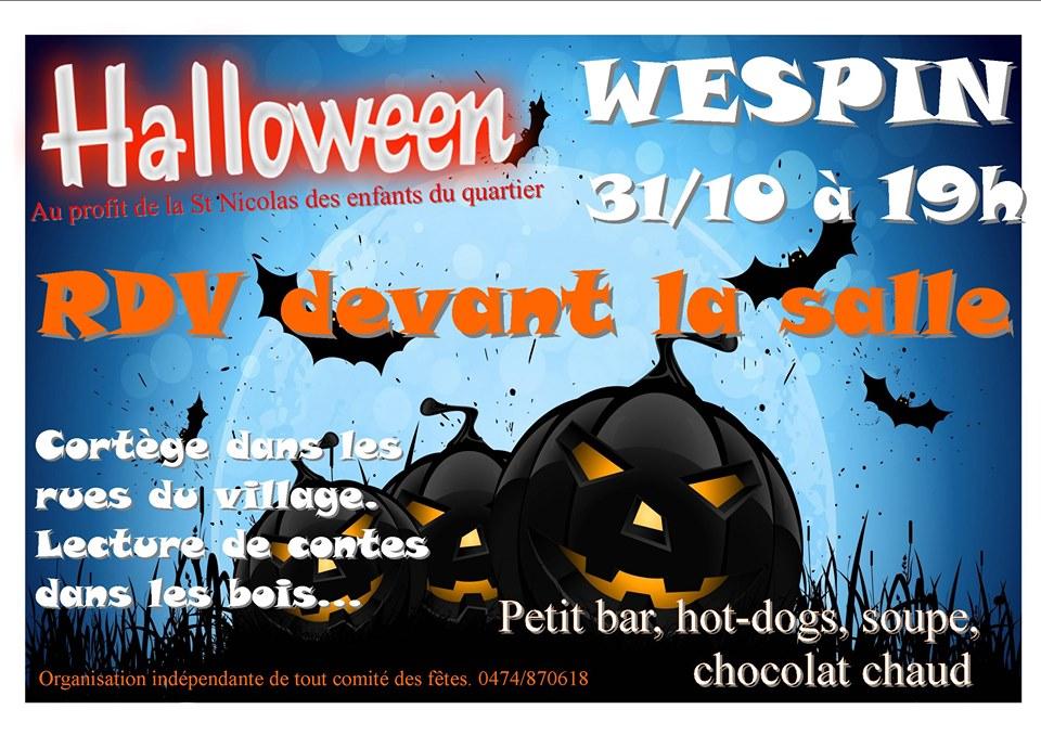 Halloween à Wespin