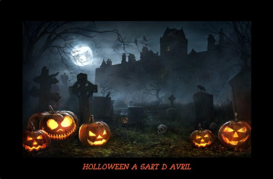 Halloween à Sart d'Avril