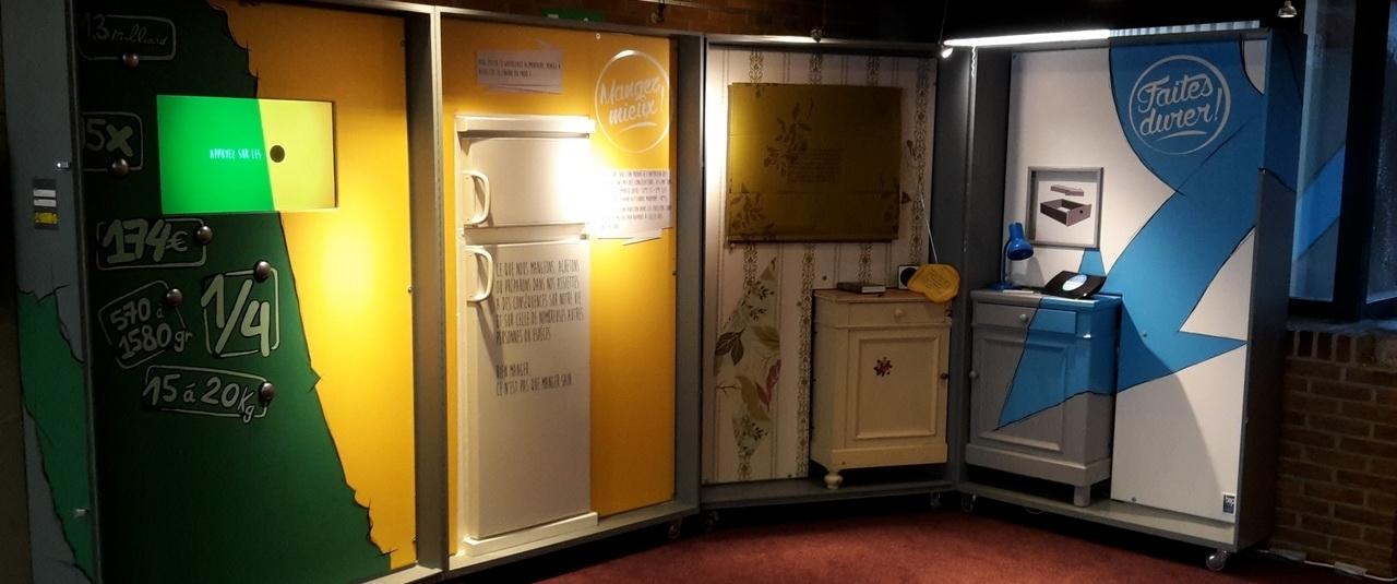 Exhibition: Objectif moins de