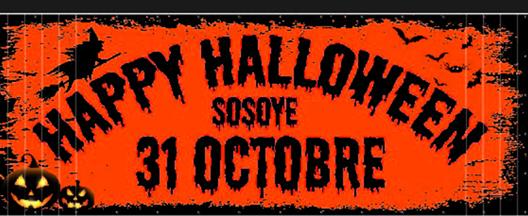 Happy Halloween à Sosoye
