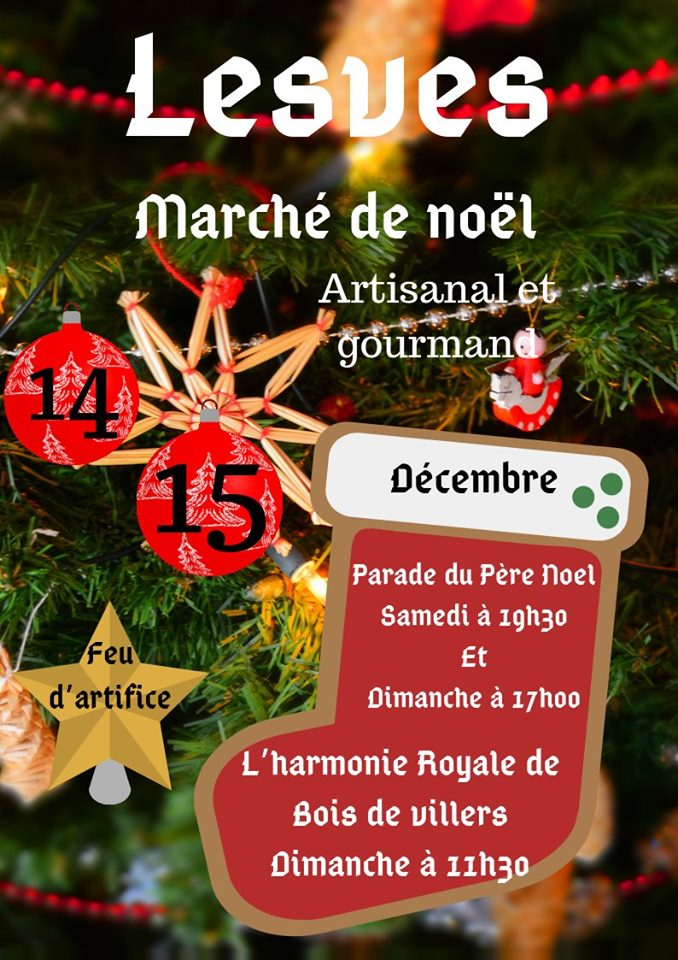 Christmasmarket in Lesve