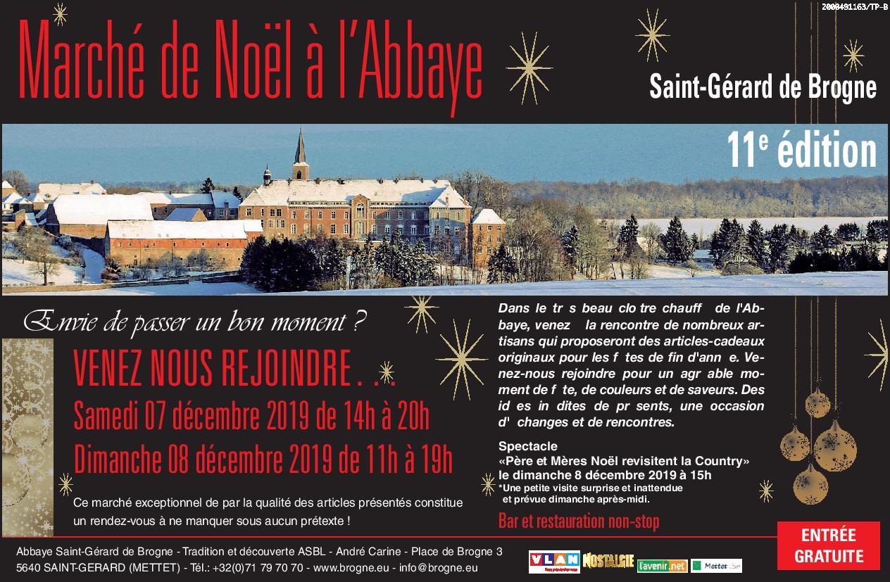 Marché de Noël à l'Abbaye(...)