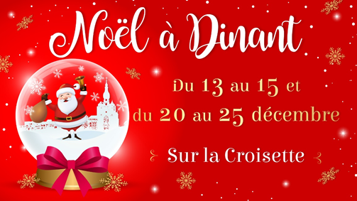 Christmas market in Dinant