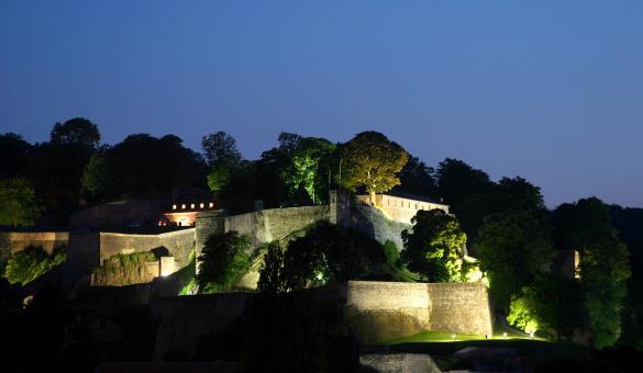 Croisière nocturne à Namur