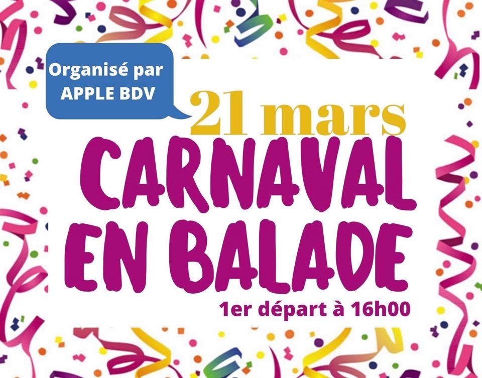 1er Carnaval en balade à(...)