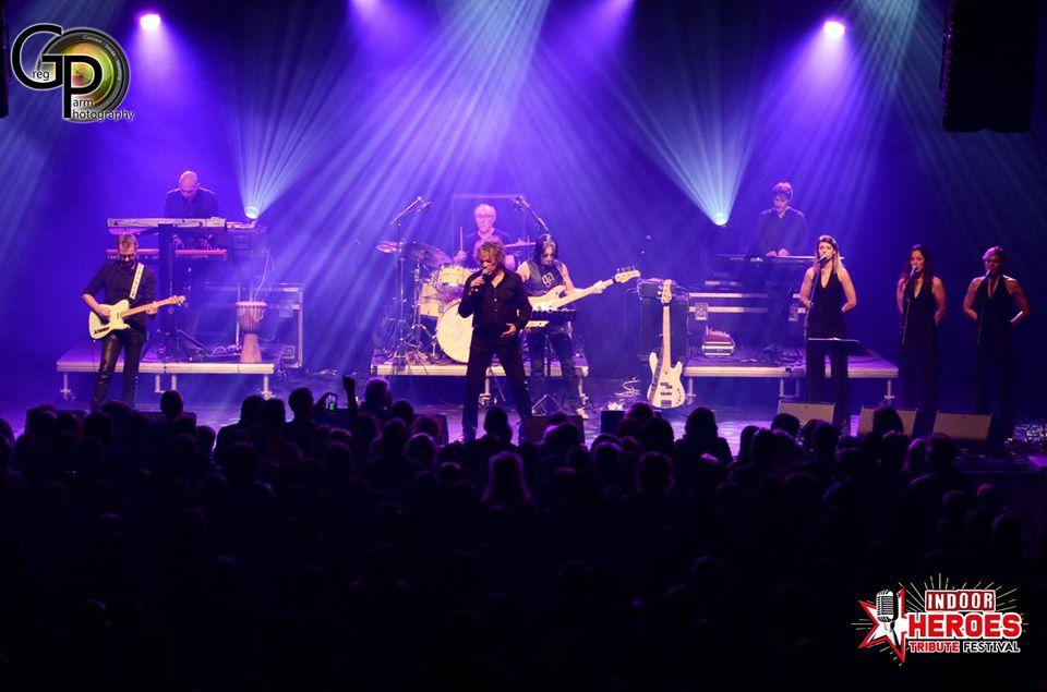 Michel chante Sardou à Houx