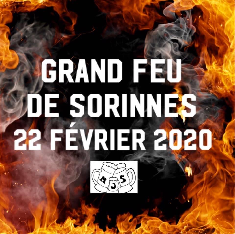 Grand feu de Sorinnes