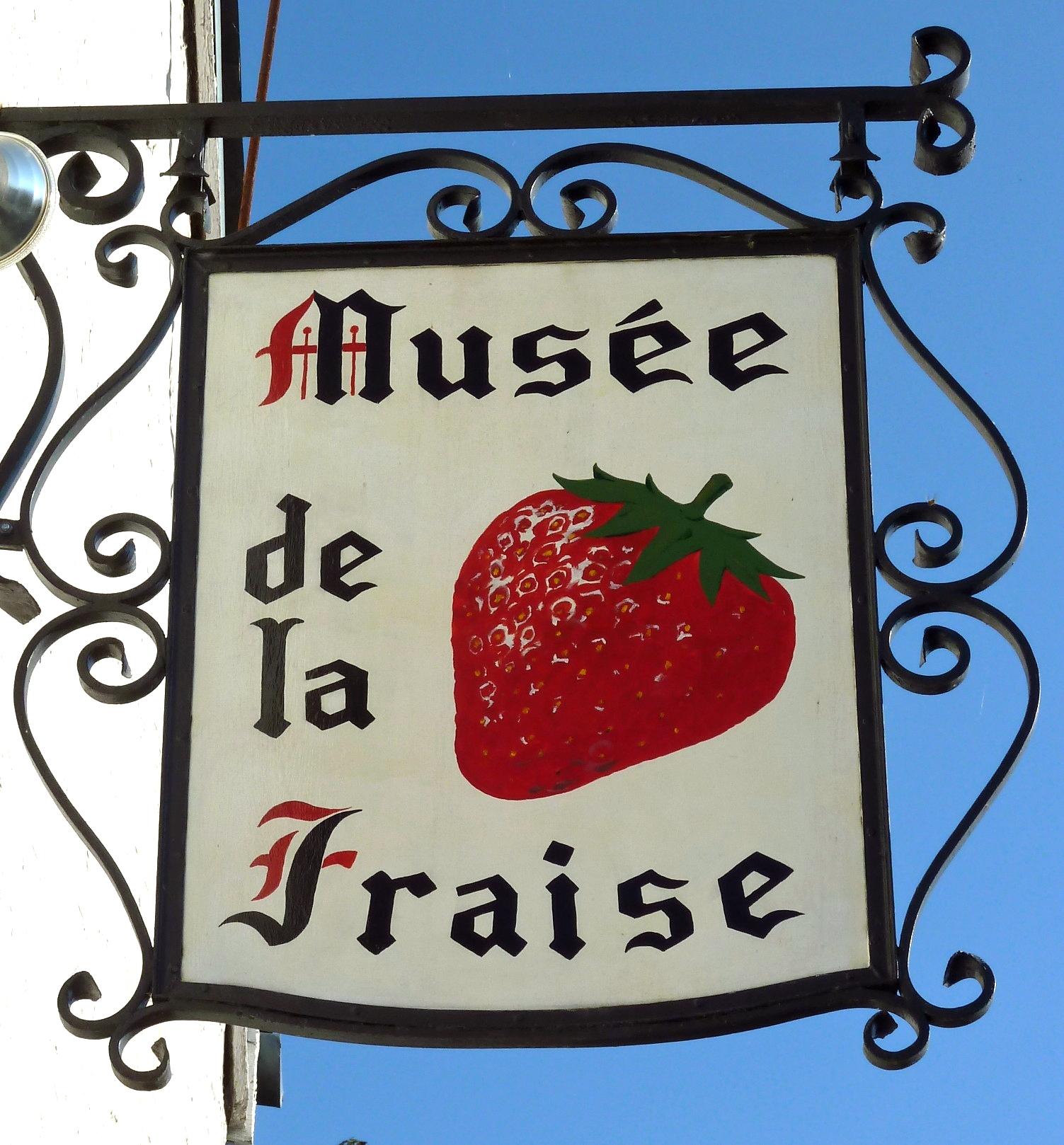 MUSEE DE LA FRAISE