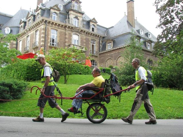 Joelettes Château de Namur