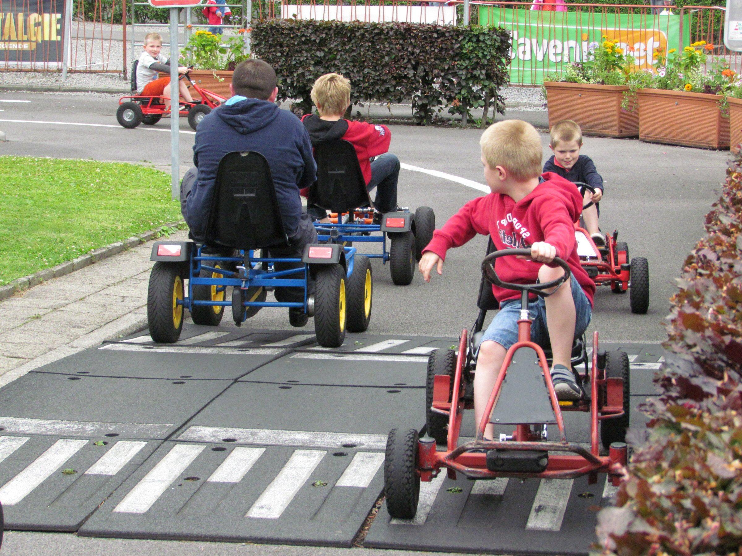 Parc attractif Reine Fabiola go-karts