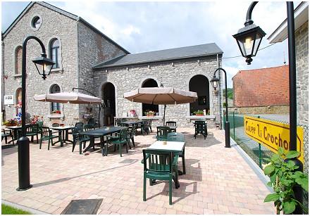 Ancienne Ecole - Restaurant les Montagnards - Terrasse