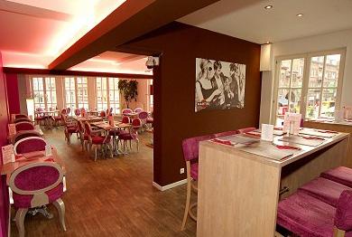 Brasserie le Royal - intérieur étage