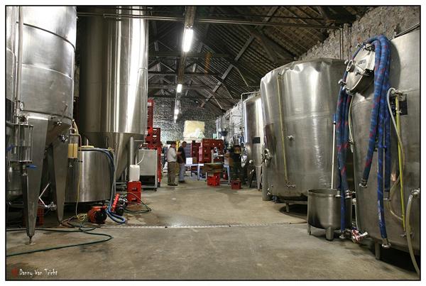 Brasserie Caracole fermentation