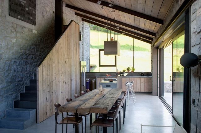 Bioul - La Micheline (Espace cuisine/bar)