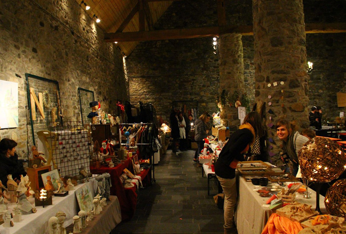 Christmas market in Godinne