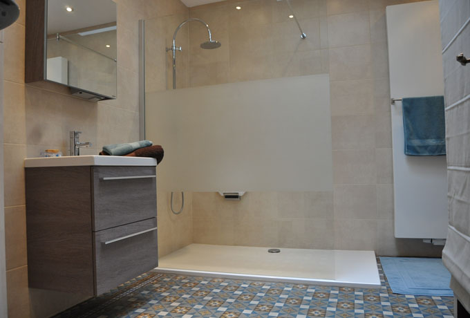Au Fil des pages salle de bain