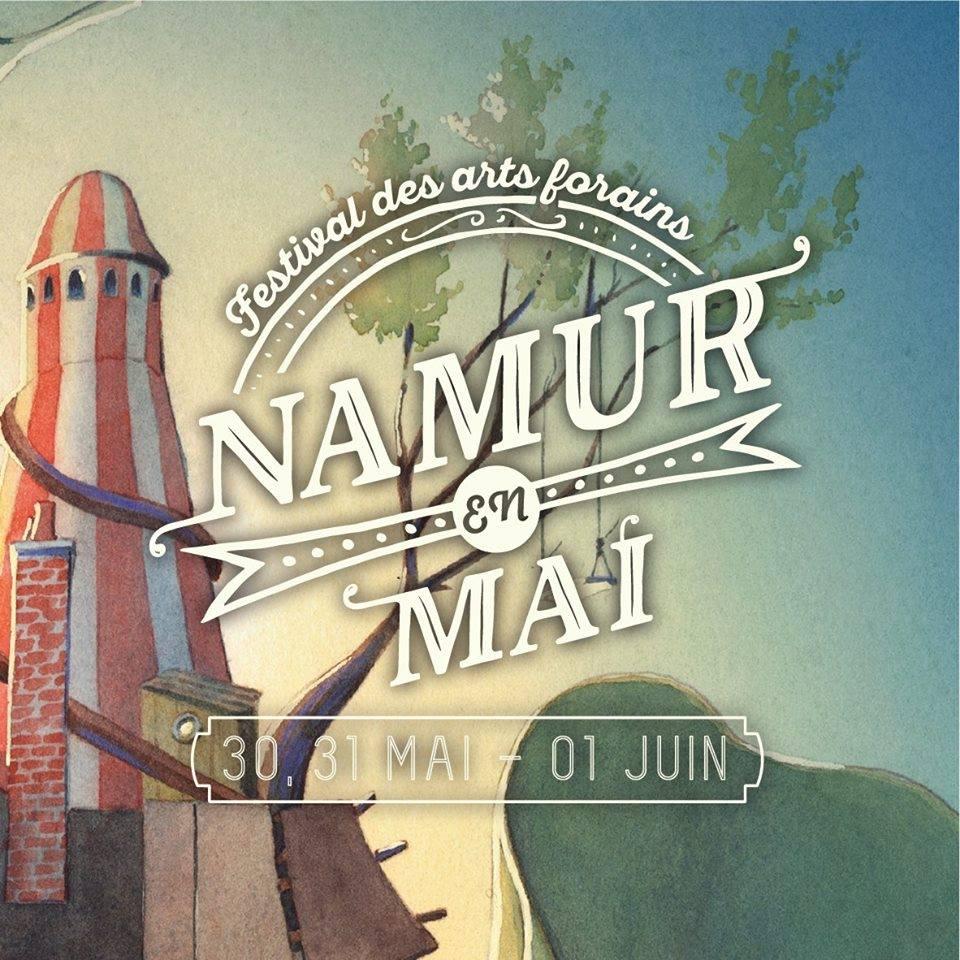 Namur en mai 2019