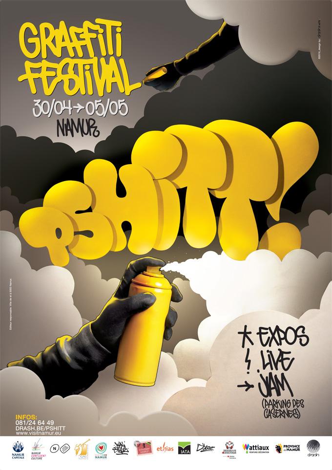 Le Graffiti Festival Pshitt