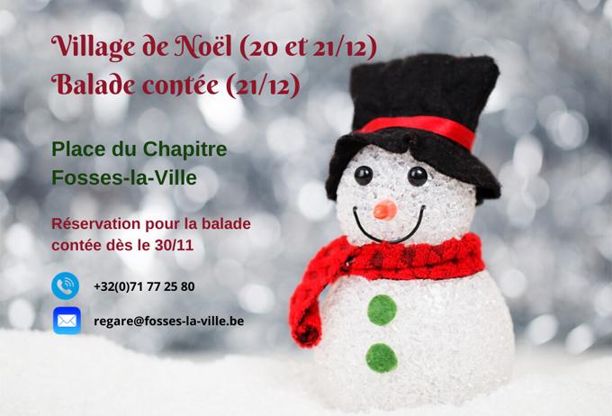 Christmas Village of Fosses-la